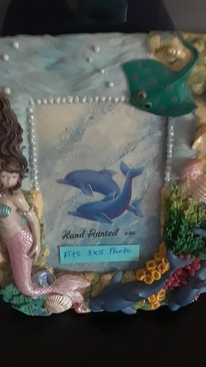 Mermaid picture frame for Sale in Long Beach, CA