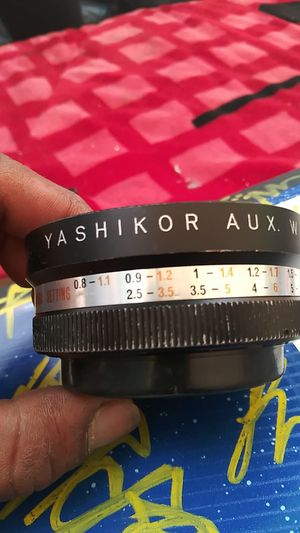 Yashikor aux wide angle 1.4 for Sale in Los Angeles, CA