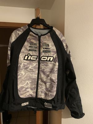 Icon women's motorcycle jacket size XXL for Sale in Hillsboro, OR