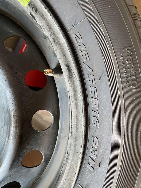2019 honda civic tires