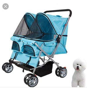 Selling this two seats dog stroller it's brand new I just got it a few days ago still have the box for Sale in Las Vegas, NV