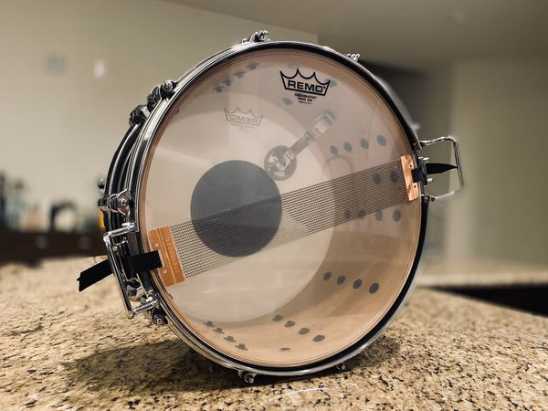 """Vintage Pearl all Maple 14""""x8"""" snare w/upgraded lugs and strainer, BEAUTIFUL!!!"""