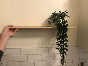 Wood shelf's 3 for Sale in Los Angeles, CA