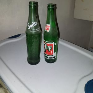 Antique sprite and 7up bottles for Sale in Pittsburgh, PA