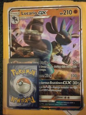 Lucario GX (pokemon) for Sale in Salt Lake City, UT