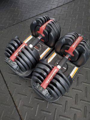 Bowflex SelectTech Weights 552 Adjustable Dumbbells for Sale in Land O Lakes, FL