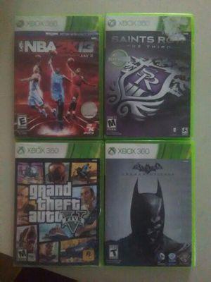 4 Xbox 360 games for Sale in Detroit, MI