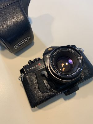 Yashica TL electro X ITS film camera for Sale in San Diego, CA