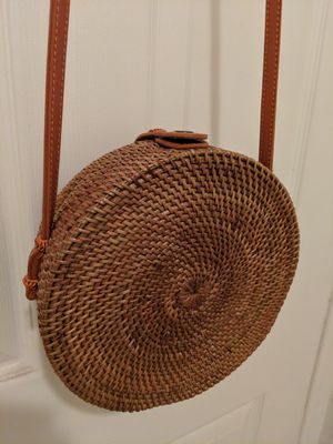 Bali Round Rattan Bag for Sale in Temple City, CA