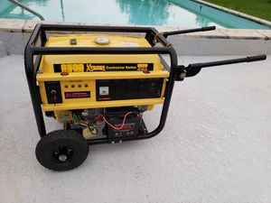 Power Generator Xtreme Contractor Series 8500 Watts Priced to sell fast!!! for Sale in Miami, FL