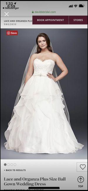 Size 18 wedding dress for Sale in Nederland, TX