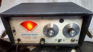 Vintage Peterson Model 420 Strobe Tuner for Sale in West Covina, CA