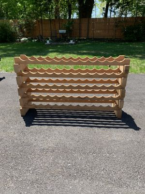 Wooden Wine Rack for Sale in Washington Grove, MD