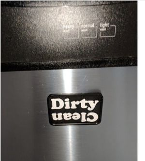 Clean/dirty magnet for your dishwasher for Sale in Hemet, CA