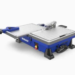 Kobalt 7 Inch Sliding Table Wet Tile Saw for Sale in Seattle, WA