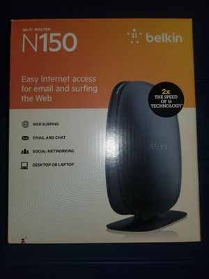 Belkin Wifi Router N150 for Sale in Bowie, MD