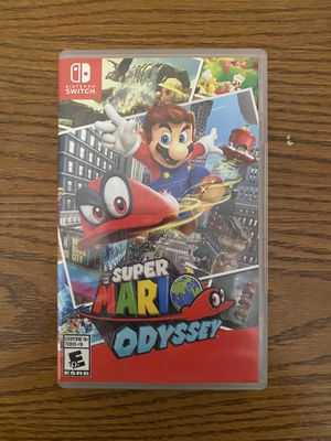 Super Mario Odyssey for the Nintendo Switch for Sale in Knoxville, TN