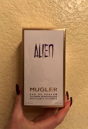 Alien by Mugler Perfume 2 oz Refillable Bottle for Sale in Phoenix, AZ