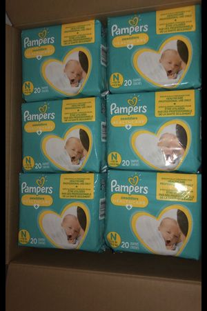 All size Pampers Swaddlers/Baby-Dry & Wipes. NB-6 for Sale in Las Vegas, NV