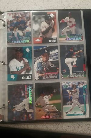 100+ Football & Baseball Card Collections Book 1998-2008 for Sale in San Antonio, TX