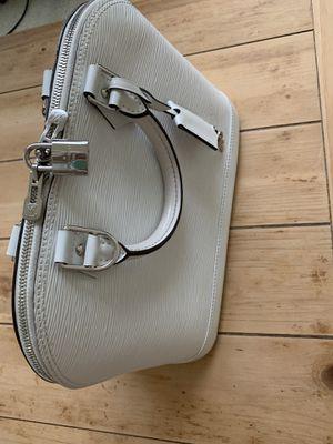Louis Vuitton white ALMA bag rare! for Sale in Milwaukie, OR