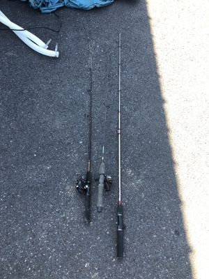 3 fishing polls for Sale in Gresham, OR