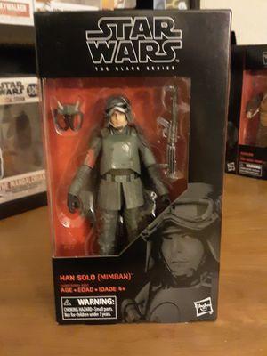 Star wars black series han solo mud trooper mib $15 for Sale in Goodyear, AZ
