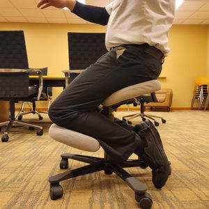Ergonomic Kneeling Chair Stool for Home Office Work Desk Improve Your Posture,Office Rolling chair,Desk chair, Computer chair for Sale in Waltham, MA