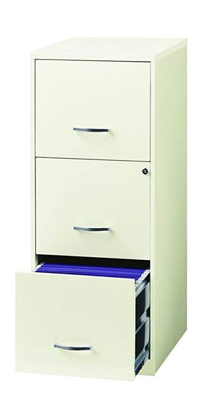 3 drawer file cabinet with key for Sale in Nashville, TN