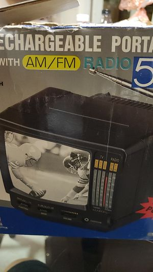 "Portable TV 5"" black and white tv for Sale in Riverside, CA"