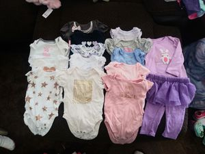 6-9 month baby girl clothes for Sale in Fresno, CA