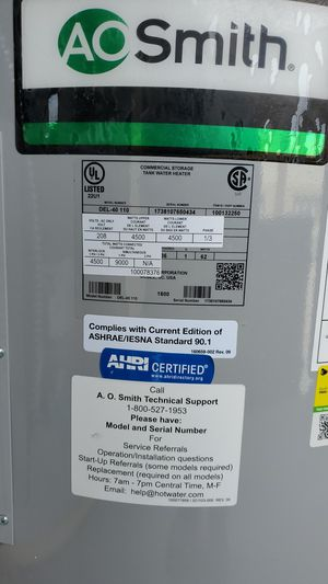 Electric water heater 40gal for Sale in Stickney, IL