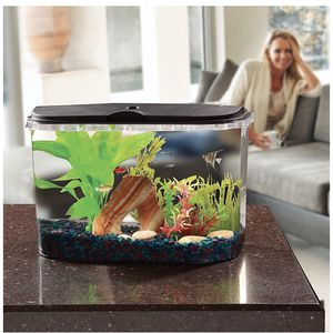 5 Gallon Fish Tank W/ Led Lights & Filter for Sale in Chino, CA