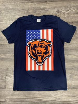 Chicago bears T-shirts , Cubs ,white Sox,bears,bulls, blackhawks ,Chicago,Chicago flag,America ,4th of July,American flag, USA,tools,garage,sports,spo for Sale in Hickory Hills, IL