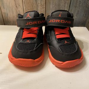 Air Jordan Infant Shoes Size 2 for Sale in Independence, KS