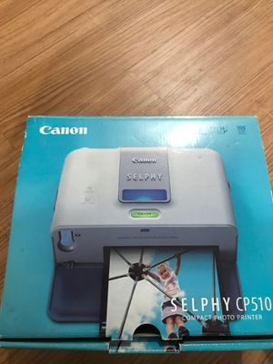 Canon digital camera and photo printer for Sale in San Antonio, TX