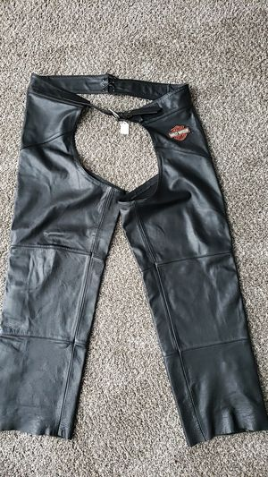 Authentic Harley Davidson men's chaps for Sale in Chino, CA