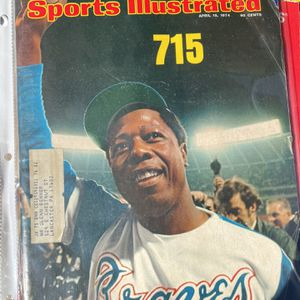 1974 Hank Aaron Sports Illustrated Magazine for Sale in Naples, FL