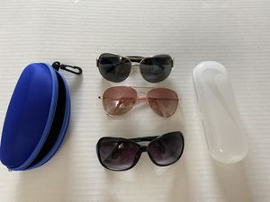 Loft sunglasses set and cases for Sale in McLean, VA