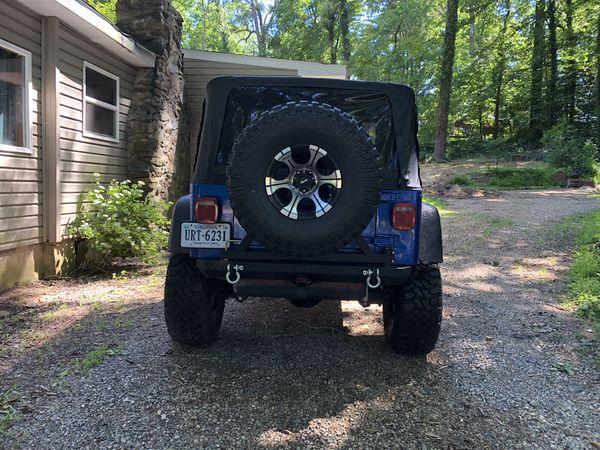 Jeep Wrangler 1997 tj