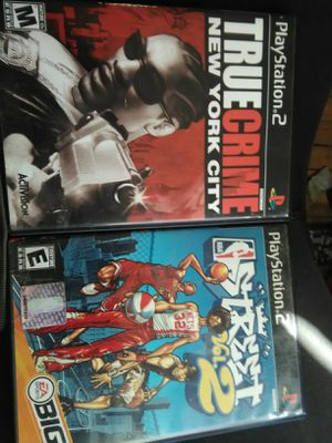 PS2 games (two games) for Sale in Detroit, MI