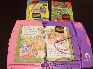 Leap pad learning system ages 4 to 7 for Sale in Manassas, VA