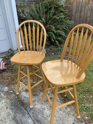 Pine bar stools for Sale in Ruston, WA