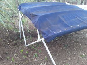 Bimini top for pontoon or deck boat for Sale in Miami, FL