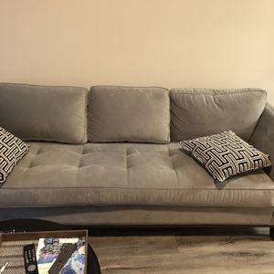 Cindy Crawford Home Plush Sofa for Sale in Atlanta, GA
