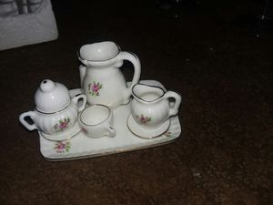 Minitire China antique tea set new in box for Sale in Springfield, OH