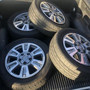 Toyota Limited Edition wheels and tires for Sale in Sacramento, CA