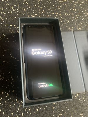 Unlocked Samsung Galaxy S9 Blue Excellent with Replacement Box for Sale in San Jose, CA