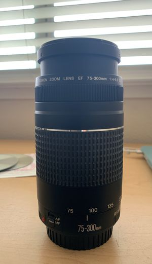 Canon Zoom Lens 75-300mm for Sale in Salinas, CA