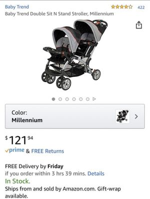 Baby trend double stroller for Sale in Newark, CA